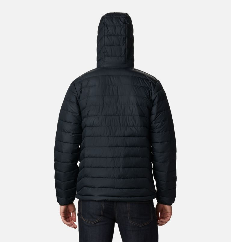 Powder Lite™ Hooded Jacket | 010 | L Doudoune à capuche Powder Lite™ Homme, Black, back