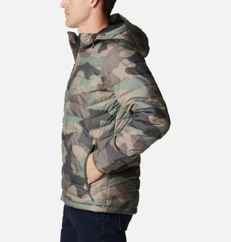 Men's Powder Lite™ Hooded Insulated Jacket Men's Powder Lite™ Hooded Insulated Jacket, a1