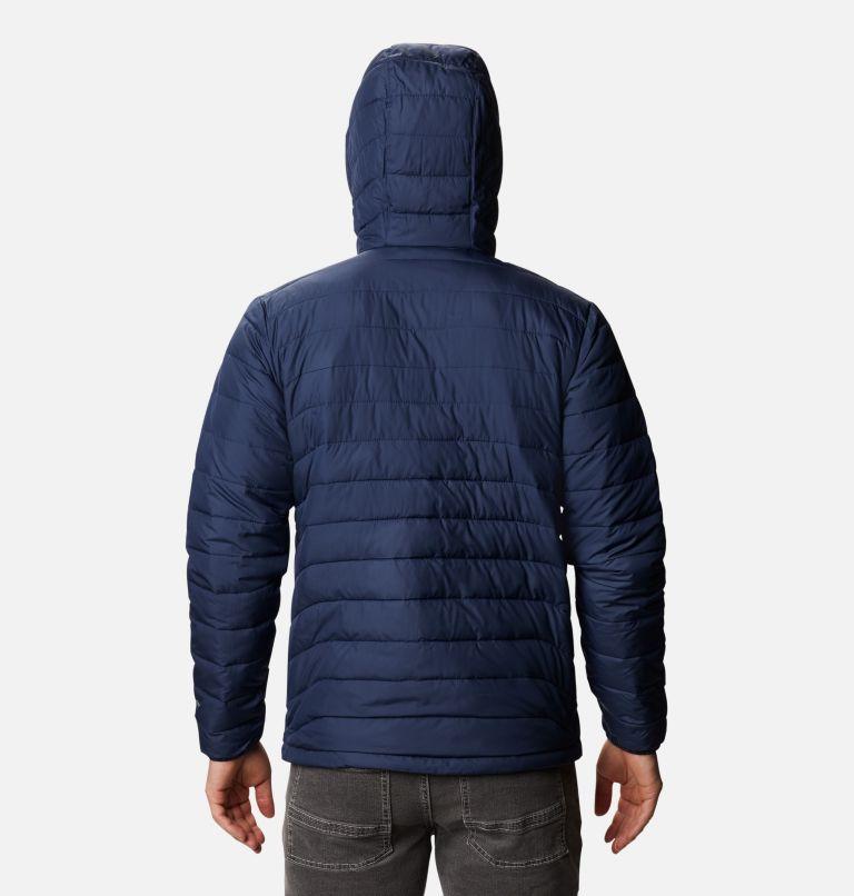 Powder Lite™ Hooded Jacket | 465 | XXL Men's Powder Lite™ Hooded Insulated Jacket, Collegiate Navy, back
