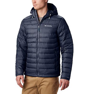 Men's Powder Lite™ Hooded Down Jacket Powder Lite™ Hooded Jacket | 043 | XS, Collegiate Navy, front