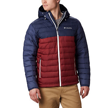 Columbia Mens Powder Lite Hooded Insulated Jacket
