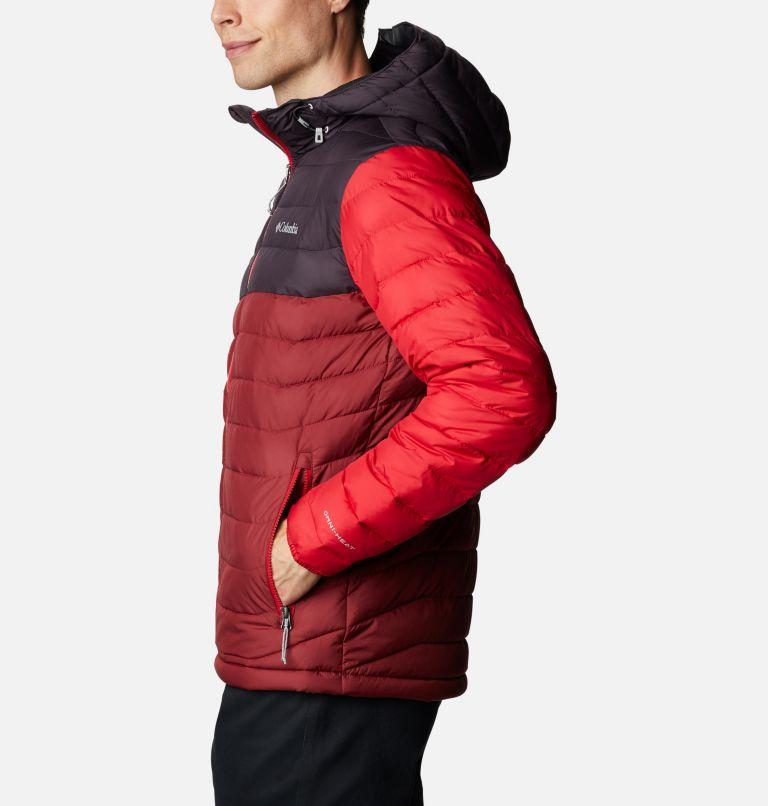 Powder Lite™ Hooded Jacket | 666 | XL Doudoune à capuche Powder Lite™ Homme, Red Jasper, Dark Purple, Mountain Red, a1
