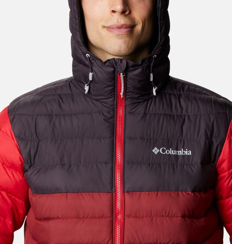 Powder Lite™ Hooded Jacket | 666 | XL Doudoune à capuche Powder Lite™ Homme, Red Jasper, Dark Purple, Mountain Red, a2