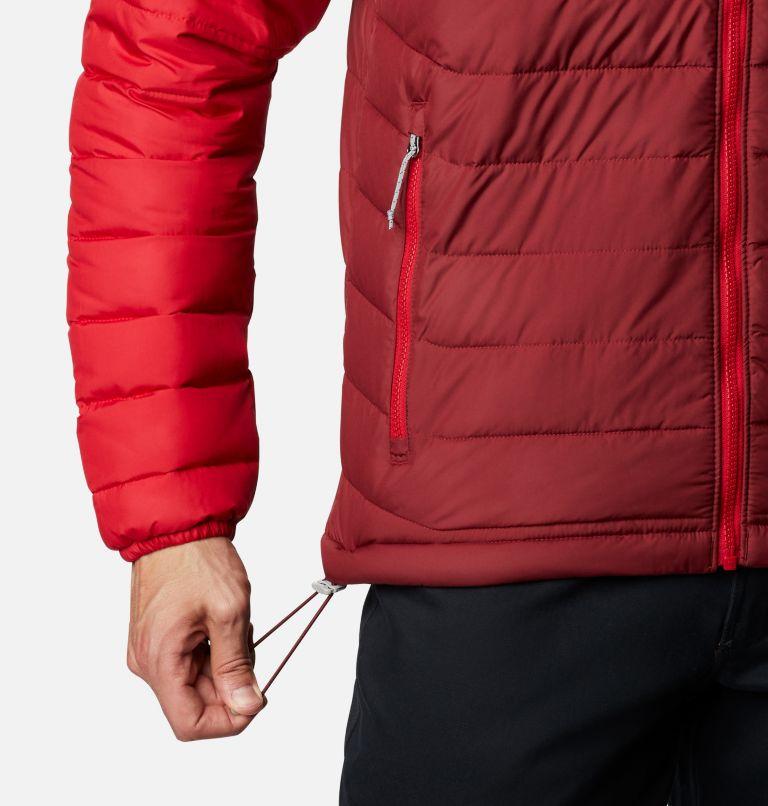 Powder Lite™ Hooded Jacket | 666 | XL Doudoune à capuche Powder Lite™ Homme, Red Jasper, Dark Purple, Mountain Red, a4