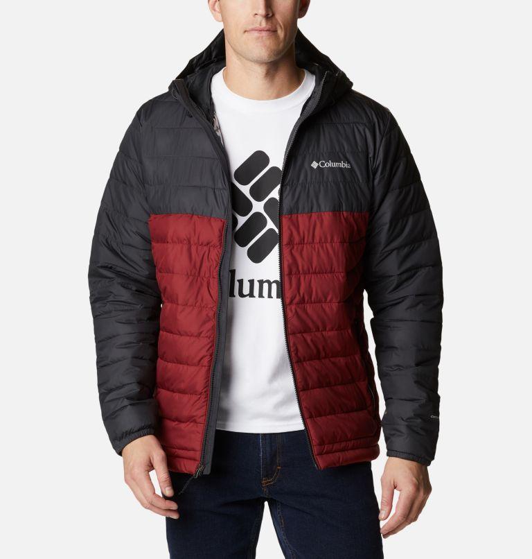 Men's Powder Lite™ Hooded Insulated Jacket Men's Powder Lite™ Hooded Insulated Jacket, front