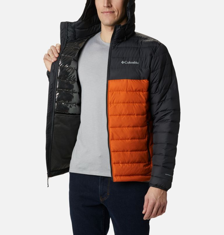 Powder Lite™ Hooded Jacket | 820 | L Doudoune à capuche Powder Lite™ Homme, Harvester, Shark, a3