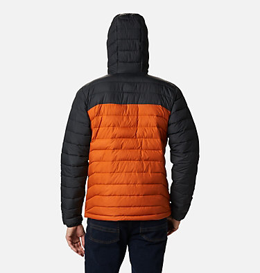 Doudoune à capuche Powder Lite™ Homme Powder Lite™ Hooded Jacket | 043 | XS, Harvester, Shark, back