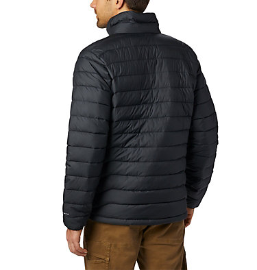 Men's Powder Lite™ Insulated Jacket Powder Lite™ Jacket | 024 | S, Black, back
