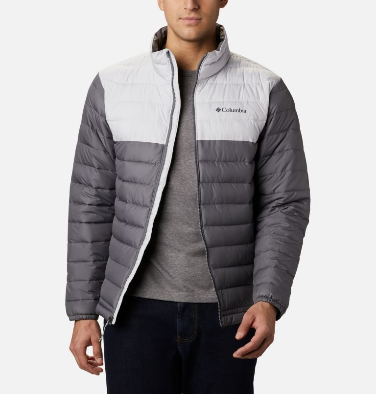 Powder Lite™ Jacket | 024 | XL Giacca Powder Lite™ da uomo, City Grey, Nimbus Grey, front