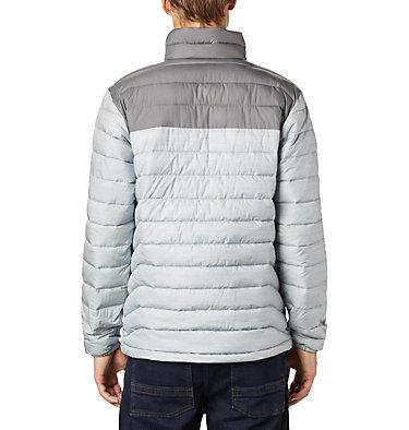 Men's Powder Lite™ Insulated Jacket Powder Lite™ Jacket | 024 | S, Columbia Grey Heather, City Grey, back