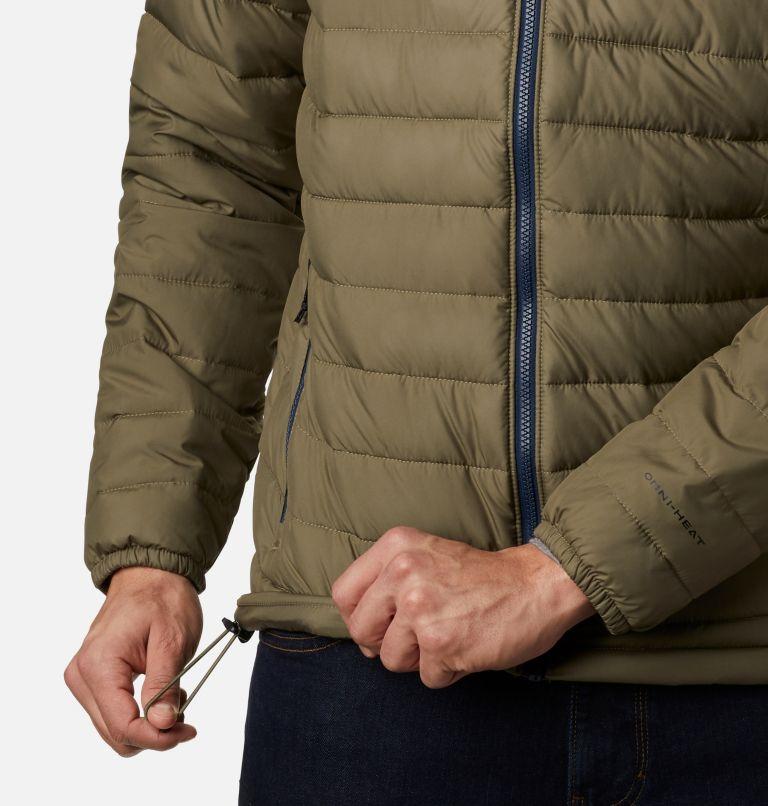 Powder Lite™ Jacket | 397 | M Men's Powder Lite™ Insulated Jacket, Stone Green, a3