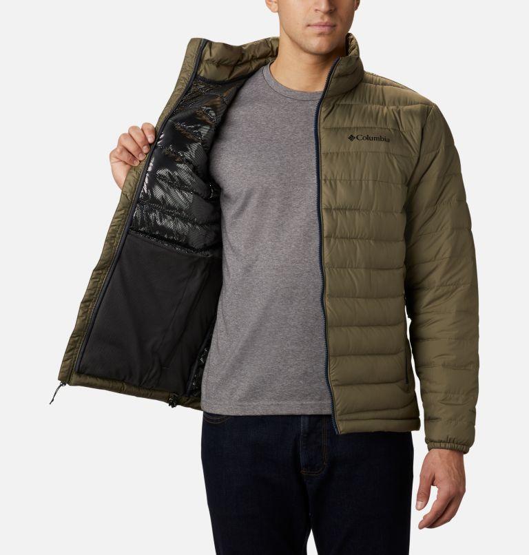 Powder Lite™ Jacket | 397 | M Men's Powder Lite™ Insulated Jacket, Stone Green, a4