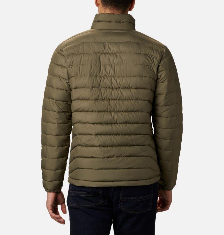 Powder Lite™ Jacket | 397 | M Men's Powder Lite™ Insulated Jacket, Stone Green, back
