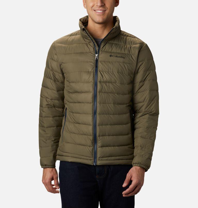 Powder Lite™ Jacket | 397 | M Men's Powder Lite™ Insulated Jacket, Stone Green, front