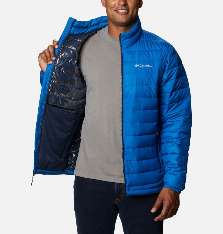 Powder Lite™ Jacket | 432 | S Men's Powder Lite™ Jacket, Bright Indigo, a3