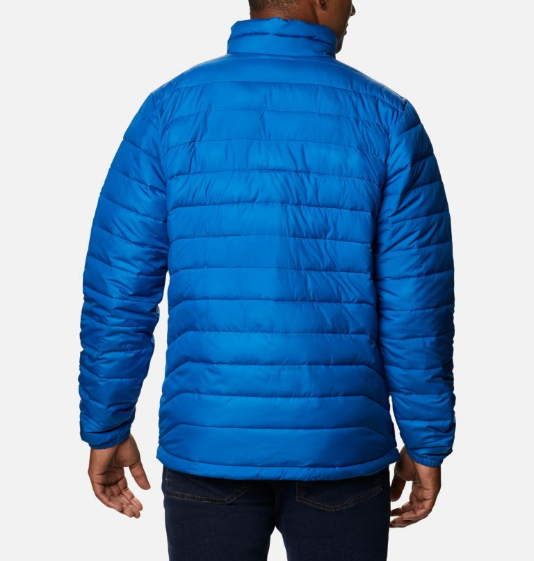 Powder Lite™ Jacket | 432 | S Veste isolée Powder Lite™ Homme, Bright Indigo, back