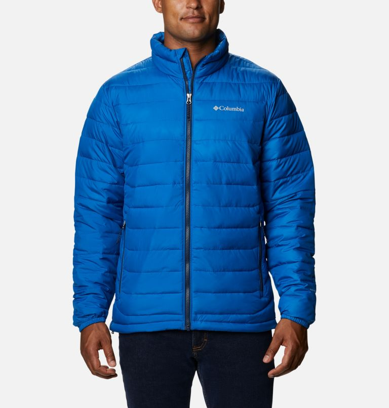 Powder Lite™ Jacket | 432 | S Men's Powder Lite™ Jacket, Bright Indigo, front