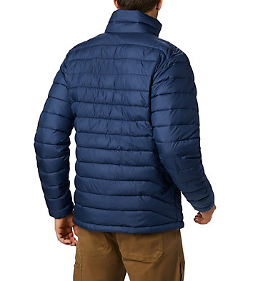 Men's Powder Lite™ Insulated Jacket Powder Lite™ Jacket | 024 | S, Collegiate Navy, back