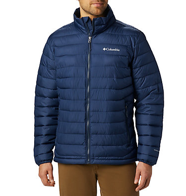 Men's Powder Lite™ Insulated Jacket Powder Lite™ Jacket | 024 | S, Collegiate Navy, front