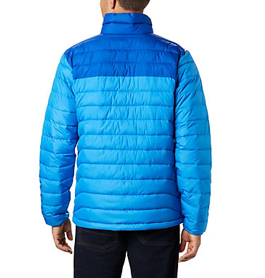 Men's Powder Lite™ Insulated Jacket Powder Lite™ Jacket | 024 | S, Azure Blue, Azul, back