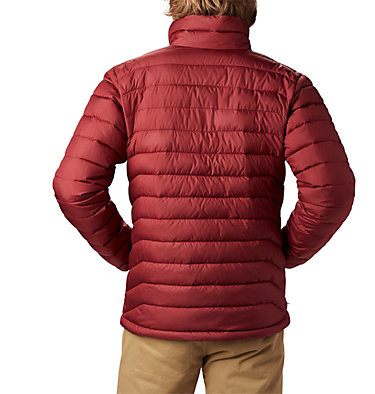 Men's Powder Lite™ Jacket Powder Lite™ Jacket | 664 | XL, Red Jasper, back