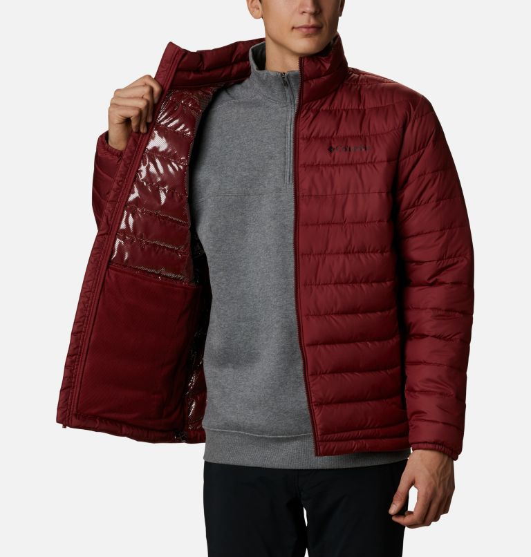 Powder Lite™ Jacket | 665 | XXL Giacca Powder Lite™ da uomo, Red Jasper, a3