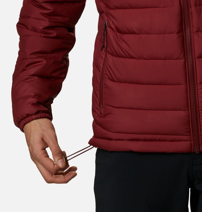 Powder Lite™ Jacket | 665 | XL Giacca Powder Lite™ da uomo, Red Jasper, a4
