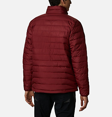 Men's Powder Lite™ Insulated Jacket Powder Lite™ Jacket | 024 | S, Red Jasper, back