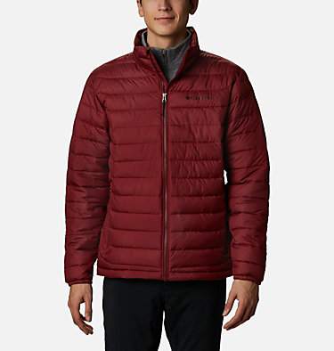 Men's Powder Lite™ Insulated Jacket Powder Lite™ Jacket | 024 | S, Red Jasper, front