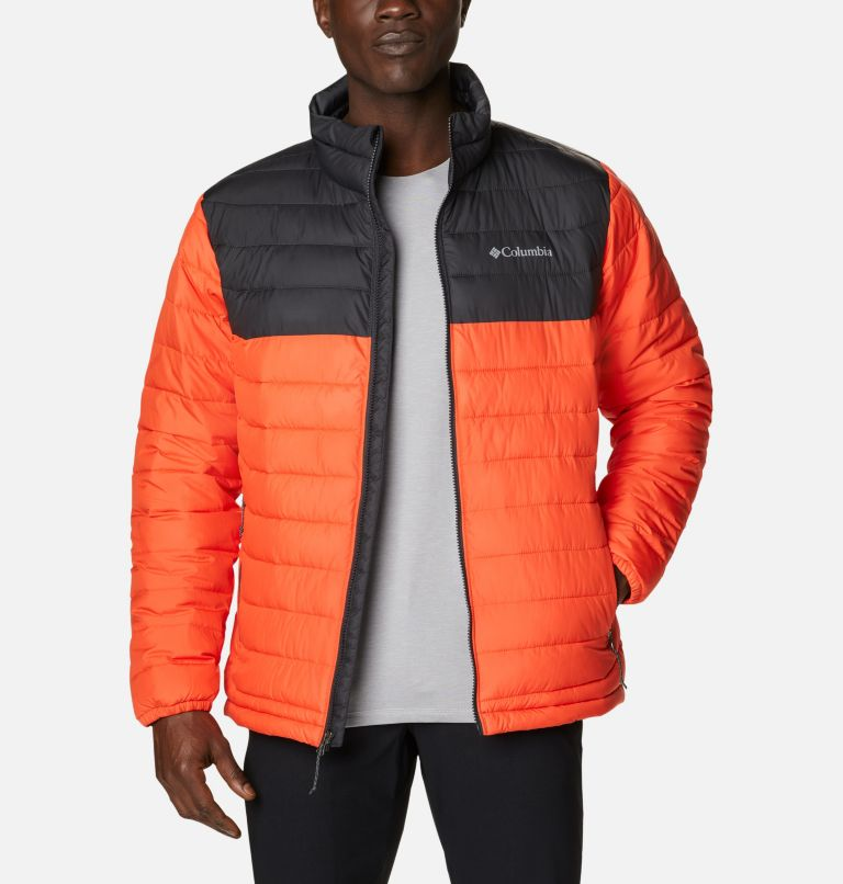 Manteau isolé Powder Lite™ pour homme Manteau isolé Powder Lite™ pour homme, front