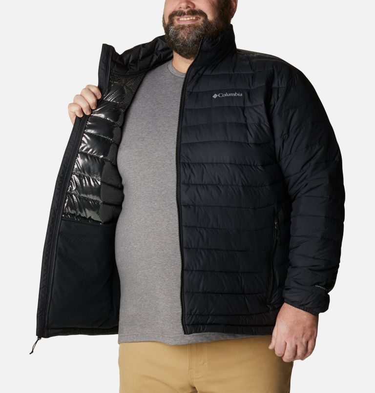 Powder Lite™ Jacket | 012 | 4X Giacca Powder Lite™ da uomo – Taglia Conformata, Black, a3