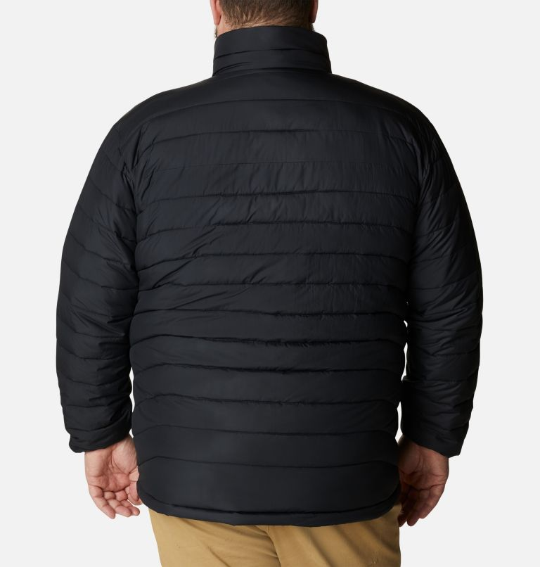 Powder Lite™ Jacket | 012 | 4X Giacca Powder Lite™ da uomo – Taglia Conformata, Black, back