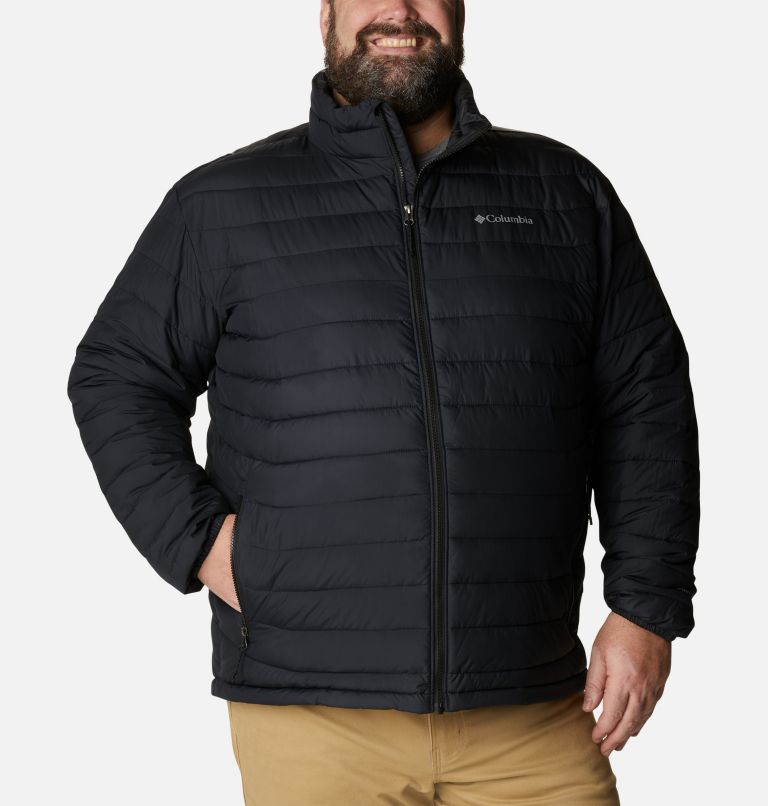 Powder Lite™ Jacket | 012 | 4X Giacca Powder Lite™ da uomo – Taglia Conformata, Black, front