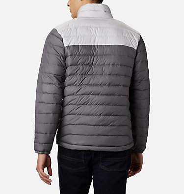 Men's Powder Lite™ Jacket – Big Powder Lite™ Jacket | 012 | 1X, City Grey, Nimbus Grey, back