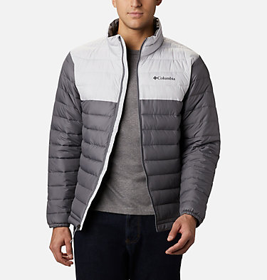 Men's Powder Lite™ Jacket – Big Powder Lite™ Jacket | 012 | 1X, City Grey, Nimbus Grey, front