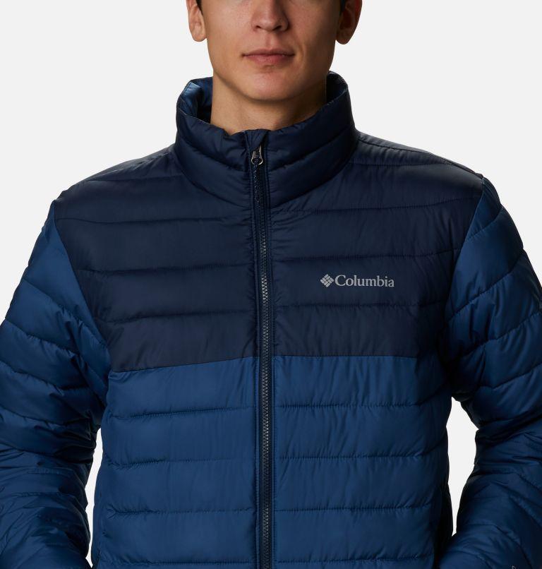 Powder Lite™ Jacket | 452 | 3X Men's Powder Lite™ Jacket – Big, Night Tide, Collegiate Navy, a2