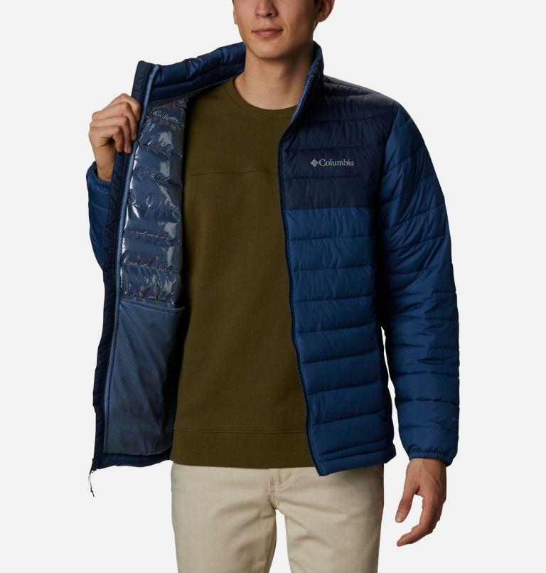 Powder Lite™ Jacket | 452 | 3X Men's Powder Lite™ Jacket – Big, Night Tide, Collegiate Navy, a3