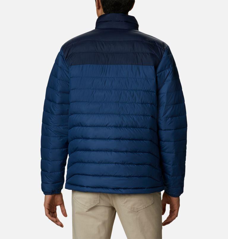 Powder Lite™ Jacket | 452 | 3X Men's Powder Lite™ Jacket – Big, Night Tide, Collegiate Navy, back