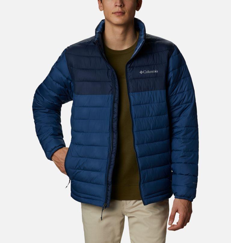 Powder Lite™ Jacket | 452 | 3X Men's Powder Lite™ Jacket – Big, Night Tide, Collegiate Navy, front