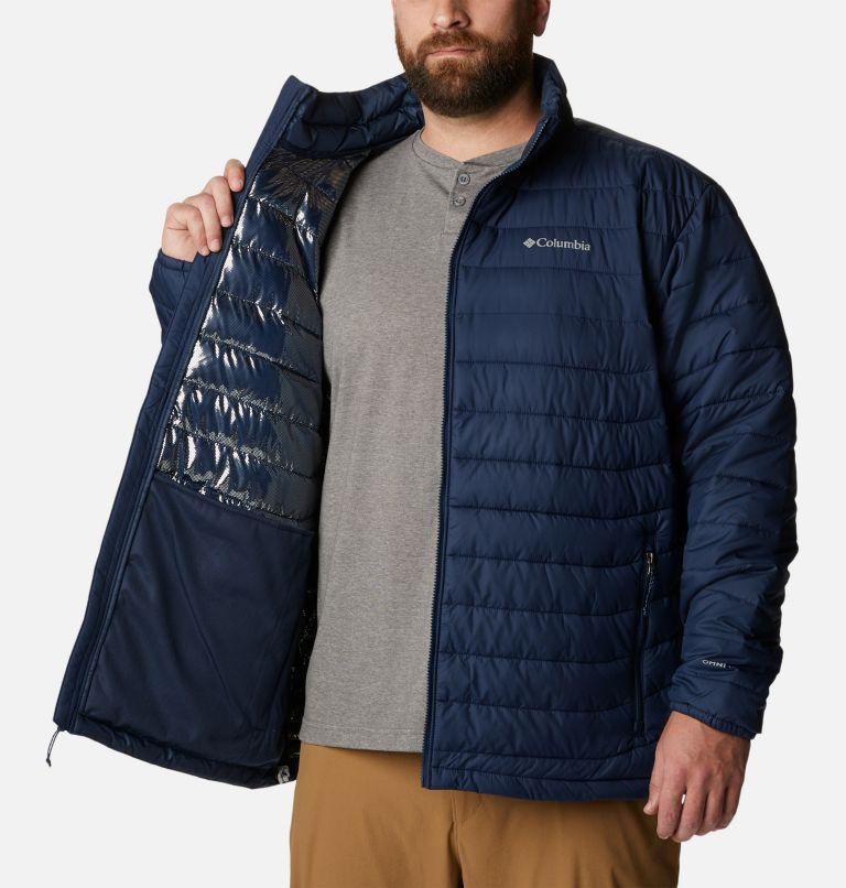Powder Lite™ Jacket | 467 | 5X Men's Powder Lite™ Jacket – Big, Collegiate Navy, a3