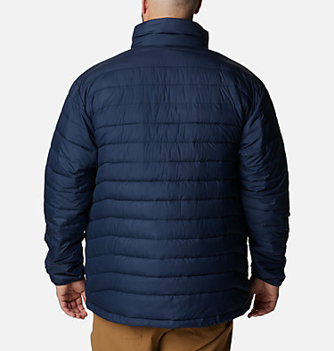 Men's Powder Lite™ Jacket – Big Powder Lite™ Jacket | 012 | 1X, Collegiate Navy, back