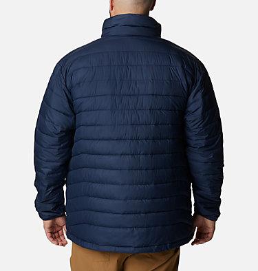 Men's Powder Lite™ Insulated Jacket - Big Powder Lite™ Jacket | 664 | 4X, Collegiate Navy, back