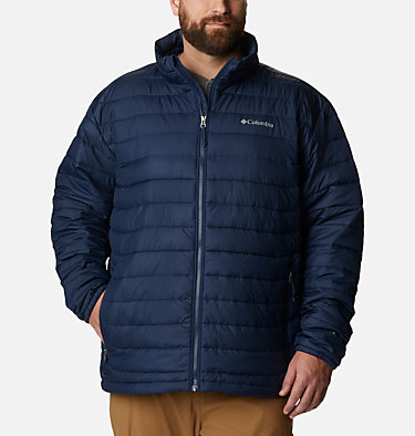 Men's Powder Lite™ Jacket – Big Powder Lite™ Jacket | 012 | 1X, Collegiate Navy, front