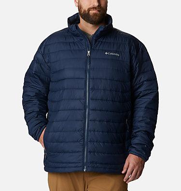 Men's Powder Lite™ Insulated Jacket - Big Powder Lite™ Jacket | 664 | 4X, Collegiate Navy, front