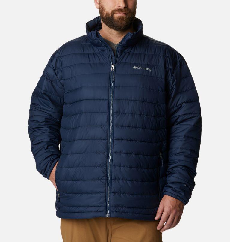 Powder Lite™ Jacket | 467 | 5X Men's Powder Lite™ Jacket – Big, Collegiate Navy, front
