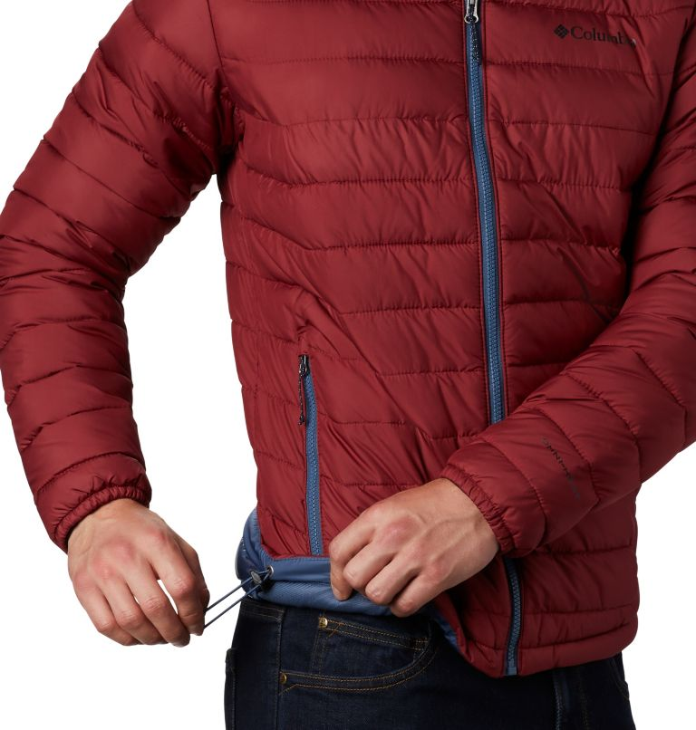 Powder Lite™ Jacket | 664 | 4X Men's Powder Lite™ Insulated Jacket - Big, Red Jasper, a1
