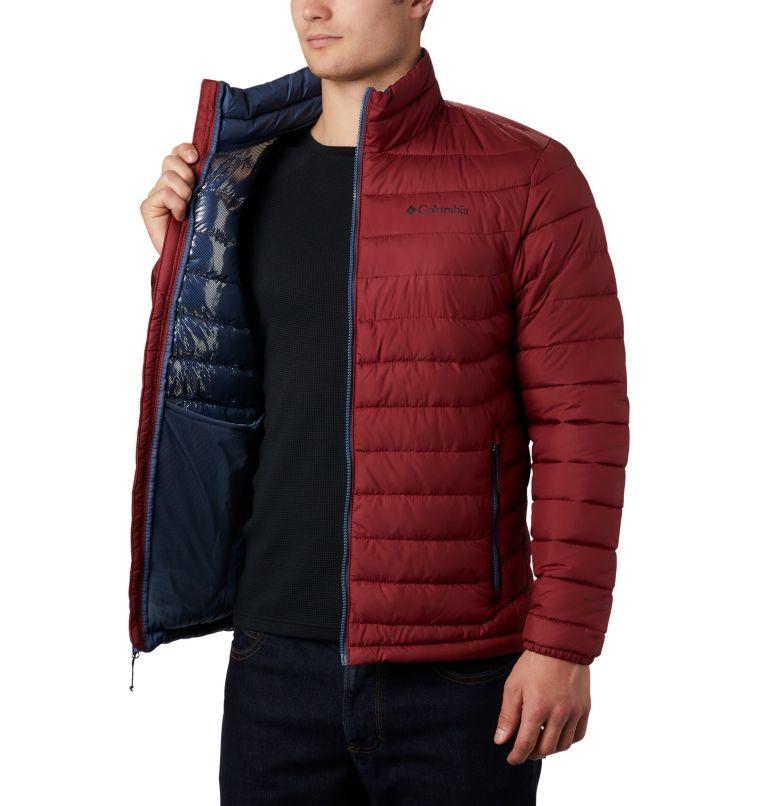 Powder Lite™ Jacket | 664 | 4X Men's Powder Lite™ Insulated Jacket - Big, Red Jasper, a3