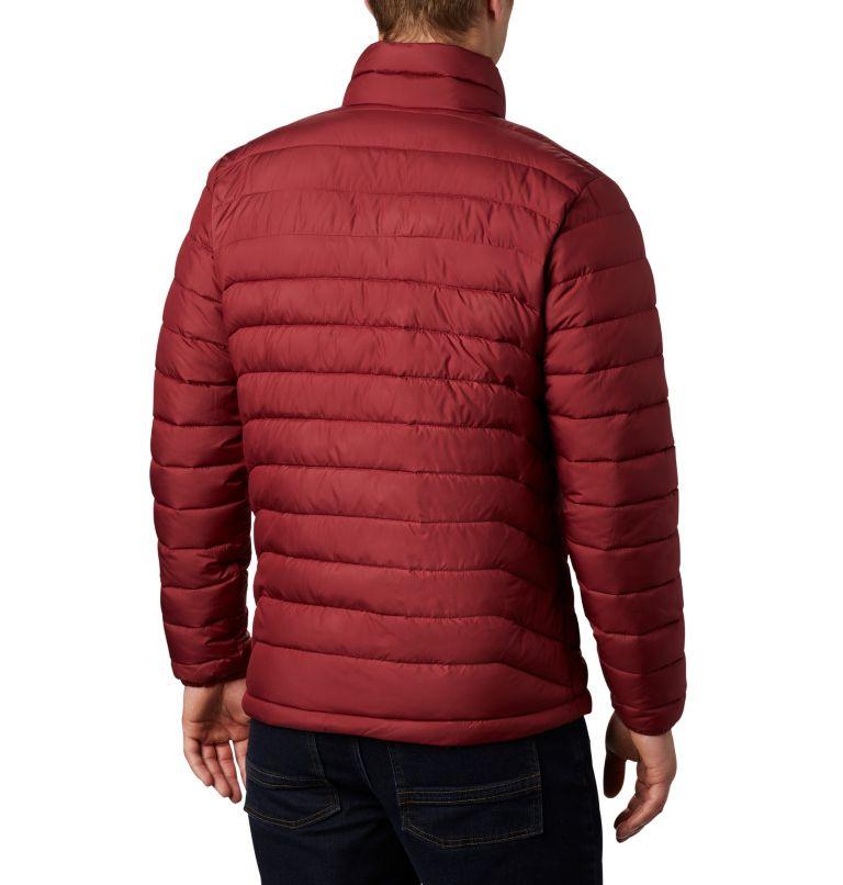 Powder Lite™ Jacket | 664 | 4X Men's Powder Lite™ Insulated Jacket - Big, Red Jasper, back