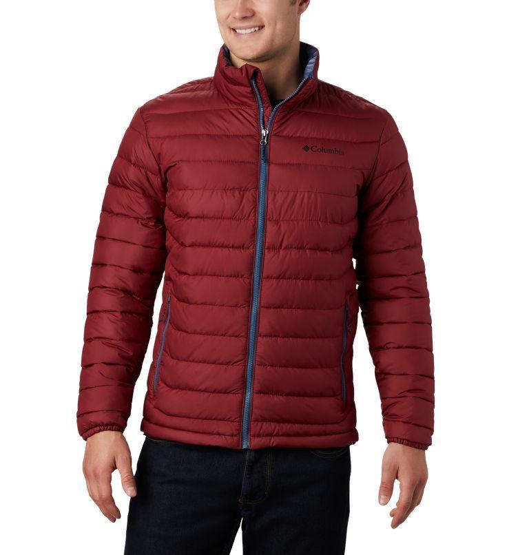 Powder Lite™ Jacket | 664 | 4X Men's Powder Lite™ Insulated Jacket - Big, Red Jasper, front