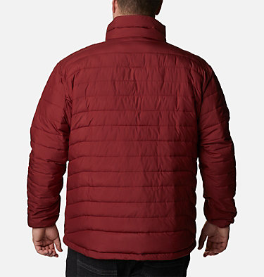 Men's Powder Lite™ Jacket – Big Powder Lite™ Jacket | 012 | 1X, Red Jasper, back